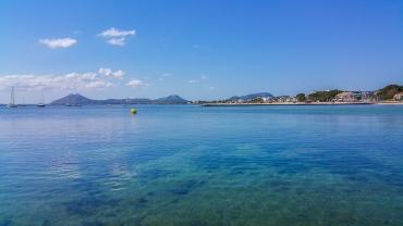 Blick in die Bucht von Port de Pollenca