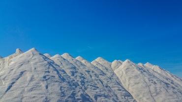 Die Salzberge von Es Trenc